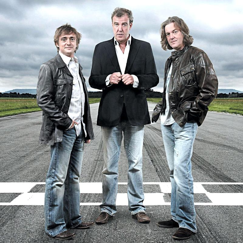 Top Gear Clarkson Hammond and May - Credit: ZUMA/REX/Rex Features