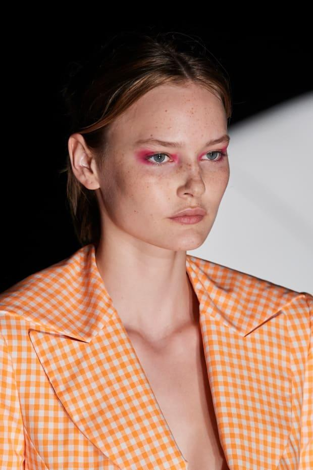 <p>A beauty look from Prabal Gurung Spring 2022. Photo: Imaxtree</p>