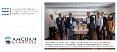 The event was witnessed by board and executive members of both CAFT as well as AmCham.