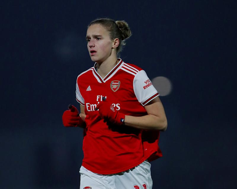 Vivianne Miedema was involved in every Arsenal goal while on the pitch Action Images via Reuters/Andrew Couldridge