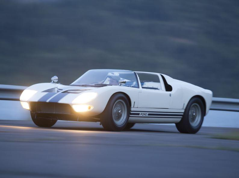 La Ford GT40 all'asta (foto: RM Sotheby's)