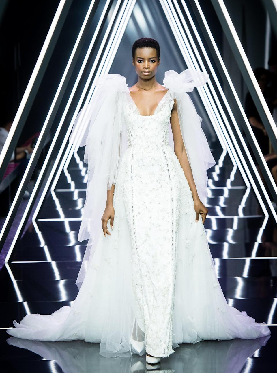 <p>It was obvious that Angolan model Maria Borges was going to be a star when she booked 17 shows in her first Fashion Week season. In 2015, Borges became the first Black model to walk in Victoria's Secret's annual show with her natural hair, which sparked a larger conversation in the fashion industry about inclusion on the catwalk.</p>