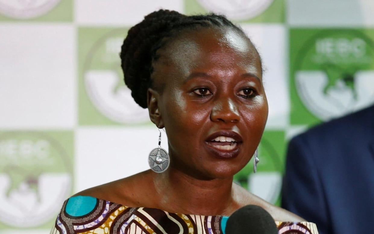 Roselyn Akombe - REUTERS