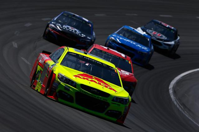 "<a class=""link rapid-noclick-resp"" href=""/nascar/sprint/drivers/88/"" data-ylk=""slk:Dale Earnhardt Jr."">Dale Earnhardt Jr.</a> last finished in the top five at Pocono. (Getty)"