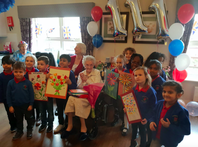 Hilda Clulow celebrated her 11th birthday last March. (SWNS)