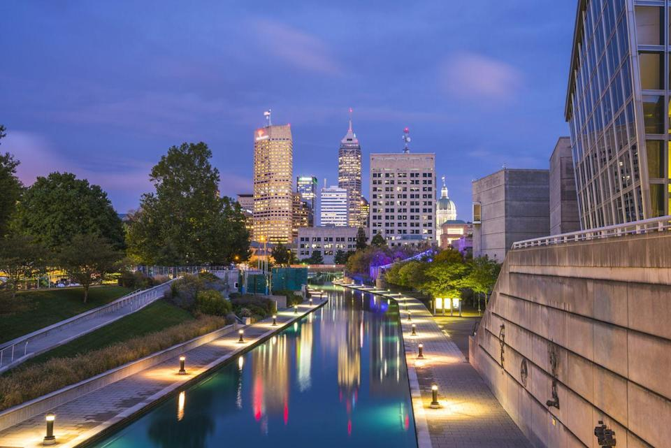 """<p>Indiana is a great state with even better cities. Check out <a href=""""https://discovernewfields.org"""" rel=""""nofollow noopener"""" target=""""_blank"""" data-ylk=""""slk:Newfields"""" class=""""link rapid-noclick-resp"""">Newfields</a>, a quirky art museum in Indianapolis, situated on a 152-acre campus that is perfect for relaxed roaming. While you're in town, have dinner at <a href=""""https://go.redirectingat.com?id=74968X1596630&url=https%3A%2F%2Fwww.marriott.com%2Fhotels%2Ftravel%2Findmd-le-meridien-indianapolis%2F&sref=https%3A%2F%2Fwww.redbookmag.com%2Flife%2Fg30767451%2Fbest-staycations-by-state%2F"""" rel=""""nofollow noopener"""" target=""""_blank"""" data-ylk=""""slk:Le Méridien Indianapolis"""" class=""""link rapid-noclick-resp"""">Le Méridien Indianapolis</a> and check out a race at the <a href=""""https://www.indianapolismotorspeedway.com"""" rel=""""nofollow noopener"""" target=""""_blank"""" data-ylk=""""slk:Indianapolis Motor Speedway"""" class=""""link rapid-noclick-resp"""">Indianapolis Motor Speedway</a>—those three activities alone will fill up any weekend.</p>"""
