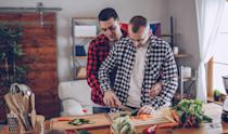 <p>Make something you're good at to feel confident. Or do things Chopped style and have your date bring a mystery basket of ingredients. Leeks, beef jerky, who freaking knows? If it's a fail, there's always takeout.</p>