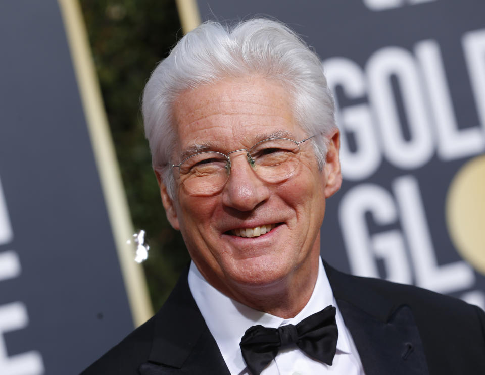 76th Golden Globe Awards - Arrivals - Beverly Hills, California, U.S., January 6, 2019 - Richard Gere. REUTERS/Mike Blake