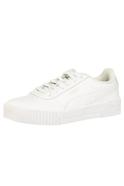"""<p><strong>PUMA</strong></p><p>amazon.com</p><p><strong>$55.00</strong></p><p><a href=""""https://www.amazon.com/dp/B07HJLNP3N?tag=syn-yahoo-20&ascsubtag=%5Bartid%7C10049.g.36804572%5Bsrc%7Cyahoo-us"""" rel=""""nofollow noopener"""" target=""""_blank"""" data-ylk=""""slk:Shop Now"""" class=""""link rapid-noclick-resp"""">Shop Now</a></p><p>Nearly 10,000 shoppers gave these leather Pumas a perfect rating.</p>"""