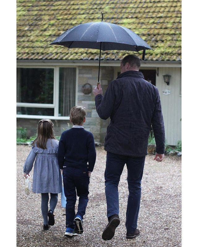 <p>Princess Charlotte and Prince George lended a helping hand amid the COVID-19 crisis, helping their parents pack up and deliver food packages for locals in need.</p>