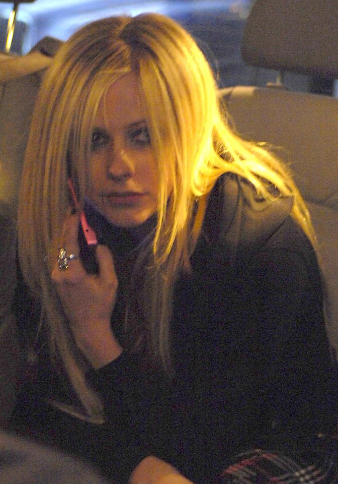 Avril Lavigne at the Mayfair Hotel on March 21, 2007 in London, United Kingdom. Photo courtesy of Getty Images.