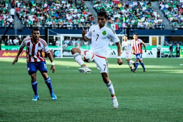 Orbelín Pineda is one of the up-and-coming stars for a young Mexico side. (Getty)