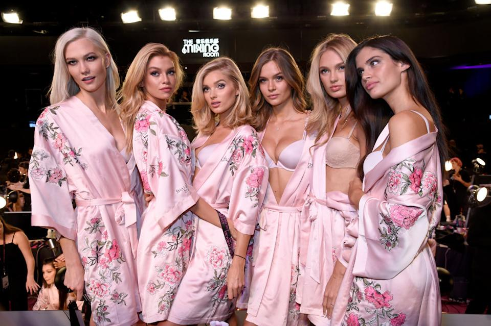 Victoria's Secret is doing away with their infamous VS Angels. (Image via Getty Images)