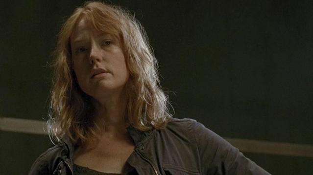 Alicia Witt as Paula in 'The Walking Dead'(Photo: AMC)