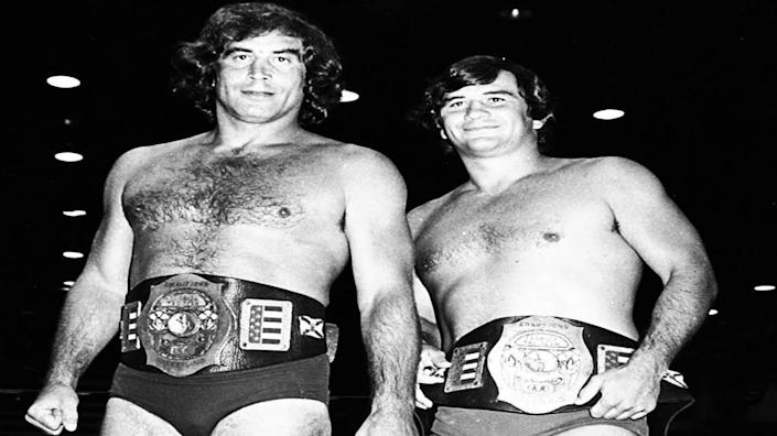 Multi-time tag team champions Jack and Jerry Brisco, the Brisco Brothers.