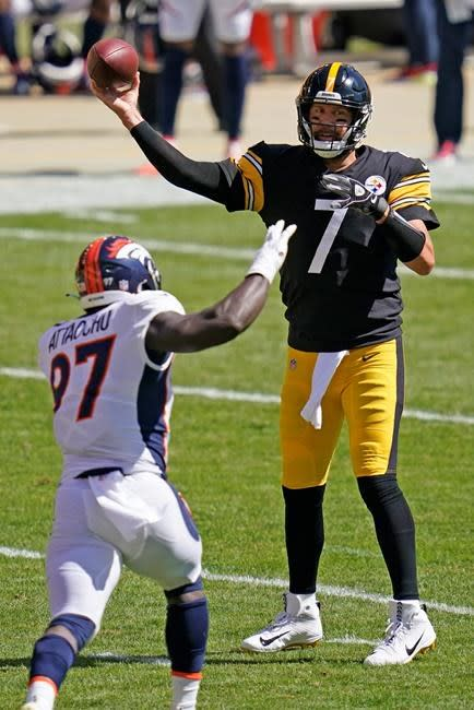 "Still ticking: ""Big Ben"" to set franchise mark vs. Texans"
