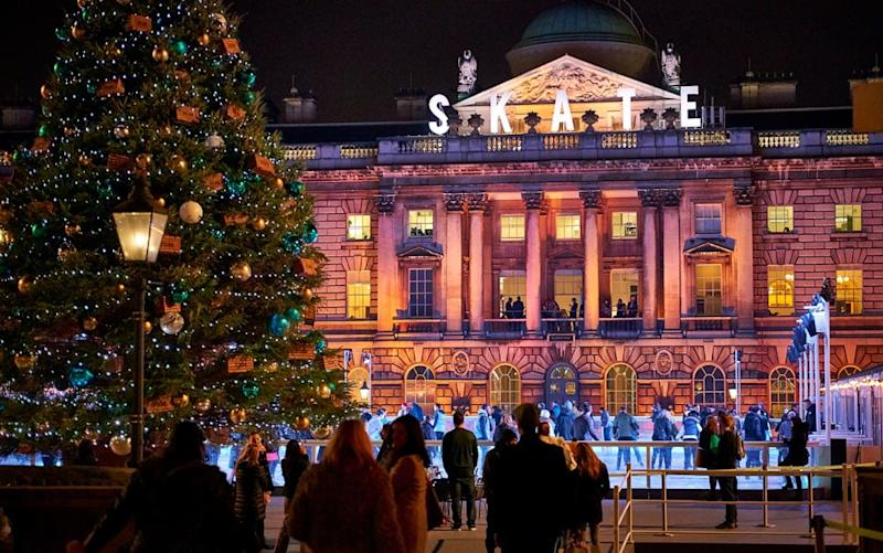 Somerset House's ice rink opens tomorrow