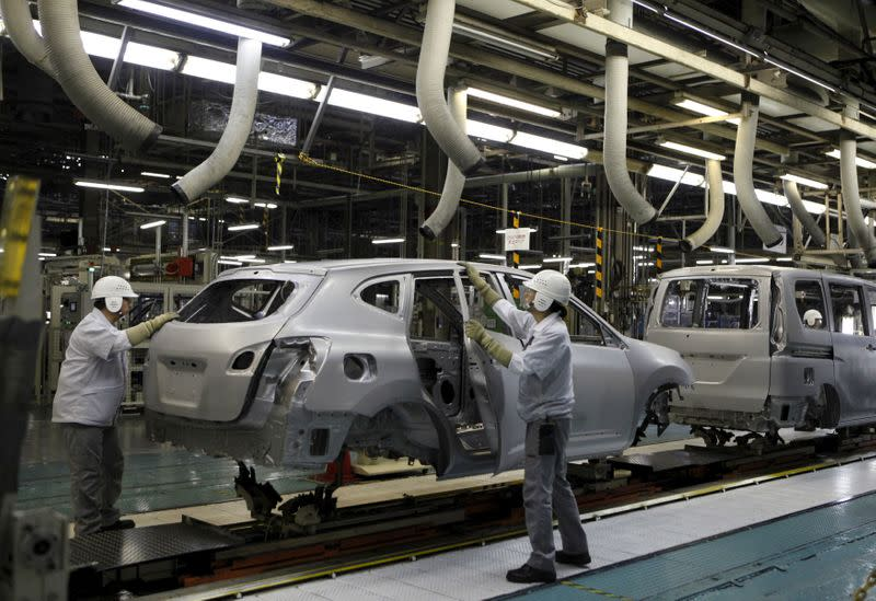 Nissan to temporarily halt production at Japan factory due to coronavirus - Nikkei