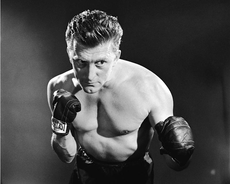 "Kirk Douglas pictured in a promotional portrait for ""Champion"" in 1949. (Photo: Silver Screen Collection/Getty Images)"