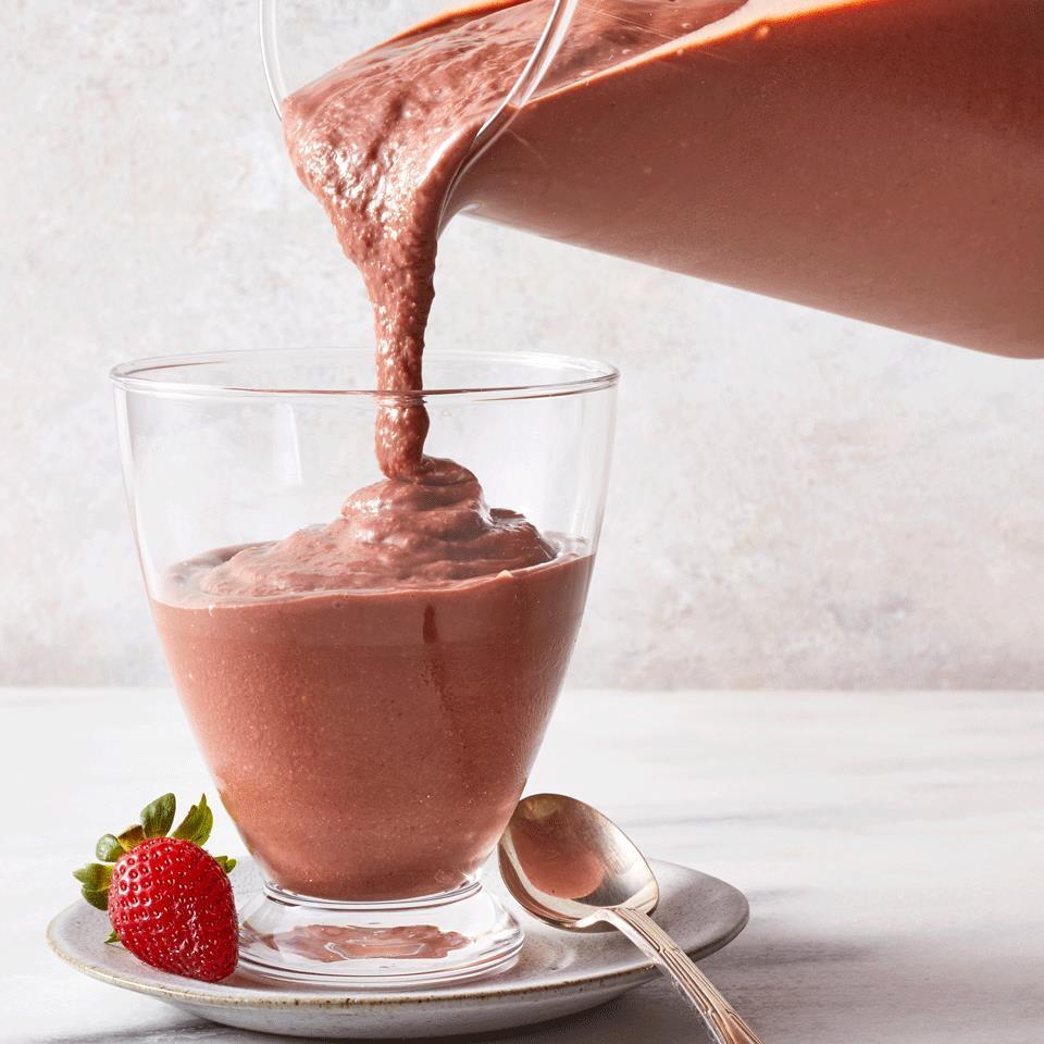 <p>This creamy, rich strawberry-chocolate smoothie will satisfy any chocolate cravings. It's so decadent you might want it as a dessert, too.</p>