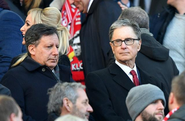 FSG's ownership, led by Liverpool chairman Tom Werner (left) and principal owner John W Henry has proved to be successful