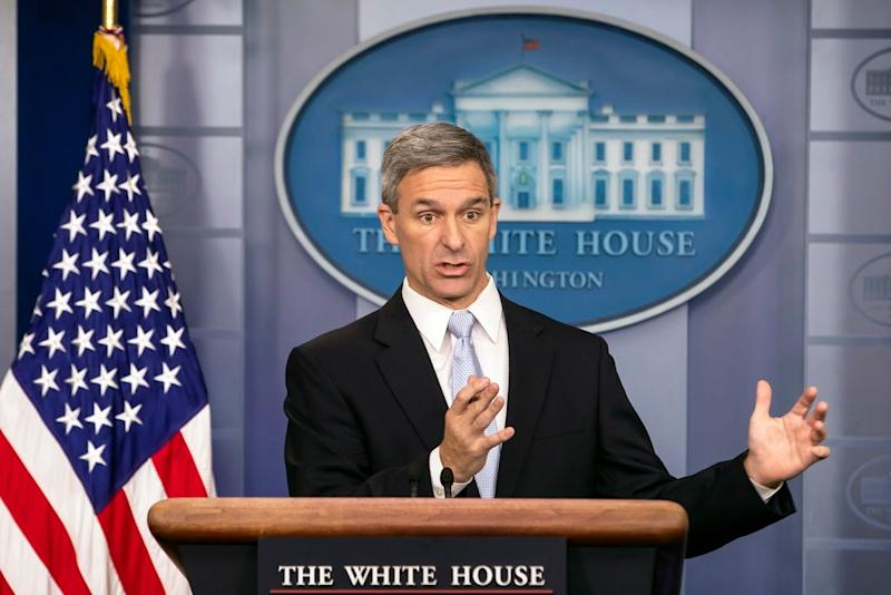 Trump immigration official Ken Cuccinelli offers own version of 'New Colossus' sonnet