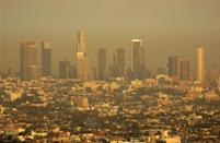 """<p>While so much of LA has changed, the smog situation unfortunately hasn't. Over the past 20 years, it's been named the <a href=""""https://la.curbed.com/2019/4/24/18514407/los-angeles-smoggiest-city-america"""" rel=""""nofollow noopener"""" target=""""_blank"""" data-ylk=""""slk:smoggiest city"""" class=""""link rapid-noclick-resp"""">smoggiest city</a> in the U.S. 19 times. </p>"""