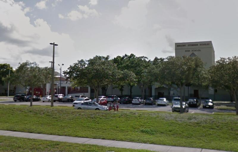 Marjory Stoneman Douglas High School is on lockdown following reports of a shooting on Wednesday afternoon, authorities said.