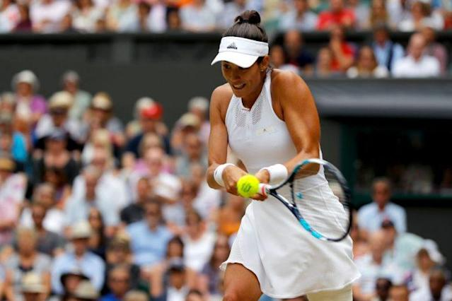 "<a class=""link rapid-noclick-resp"" href=""/olympics/rio-2016/a/1195084/"" data-ylk=""slk:Garbine Muguruza"">Garbine Muguruza</a> annihilated <a class=""link rapid-noclick-resp"" href=""/olympics/rio-2016/a/1121027/"" data-ylk=""slk:Venus Williams"">Venus Williams</a> at Wimbledon. (Getty)"