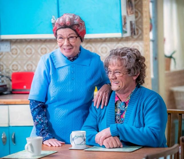 Brendan O'Carroll stars in and writes Mrs Brown Boys (Credit: BBC)