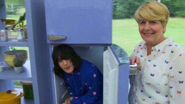 "<a href=""https://www.huffingtonpost.co.uk/entry/noel-fielding-great-british-bake-off-fridge_uk_59f1a3aae4b07d838d323b67?utm_hp_ref=uk-noel-fielding"">Noel Fielding attracted over 50 Ofcom complaints</a> in 2018, when during a skit with co-host Sandi Toksvig, he hid in a fridge. <br /><br />Plenty of people voiced their disdain, suggesting Noel was setting a potentially dangerous example by encouraging young viewers to imitate him. <br /><br />However, the TV watchdog later ruled the programme had not breached broadcasting guidelines, saying in a statement: ""We found that the scene was very brief and occurred later in the programme, when younger children were least likely to be watching.""<br /><br />Ofcom also pointed out that since the 1960s, fridges are fitted with a device meaning they can be opened from the inside, should someone climb into one as Noel did."