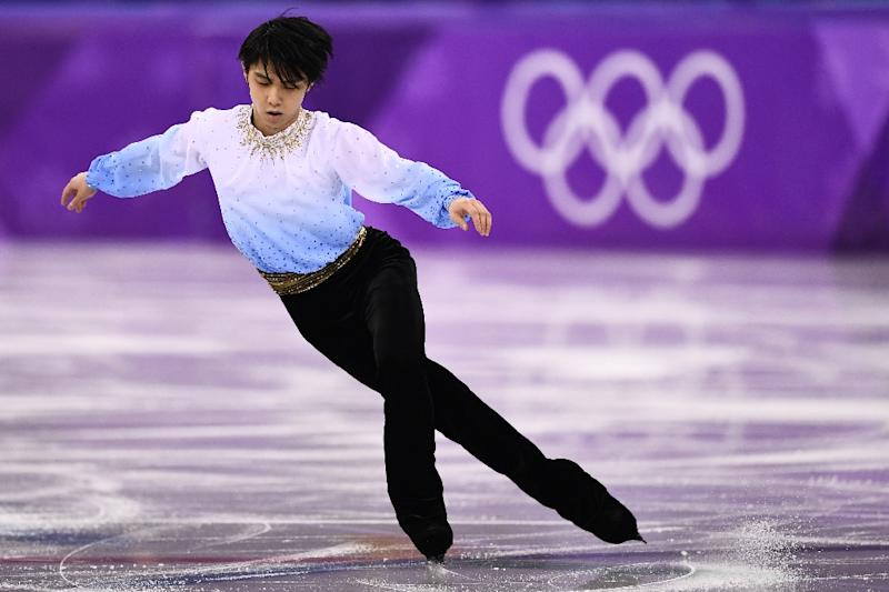 Nathan Chen lands record six quads to shoot up the leaderboard