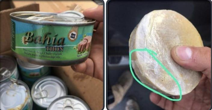 Cocaine was shopped in tuna cans, Operation Trojan Shield