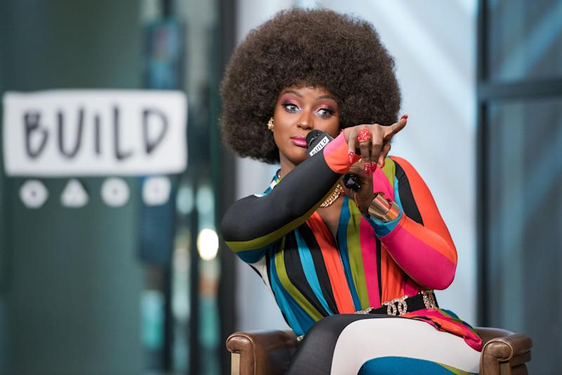 Amara La Negra visits Build Series to discuss 'Love and Hip Hop Miami' at Build Studio on Feb. 7, 2018.
