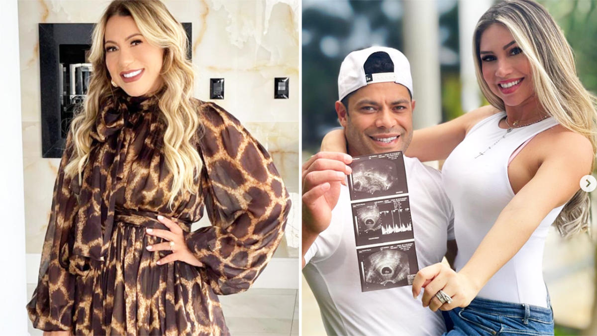 Ex-wife's message after footballer gets pregnant with her niece