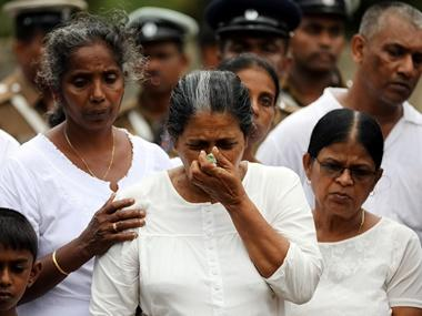 Christian leaders preach restraint in Sri Lanka after deadly blast, but rage in ethnically diverse Catholic society threatens fragile calm