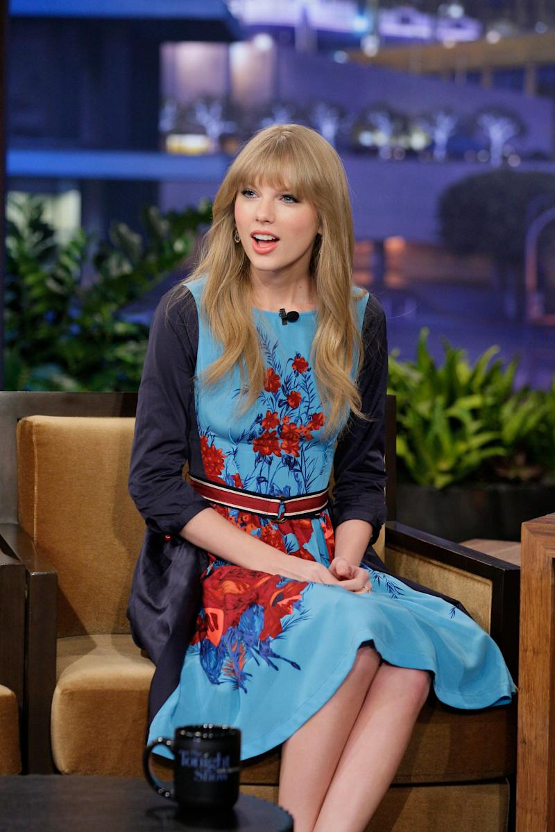 "At ""The Tonight Show With Jay Leno"" on Feb. 20, 2012."