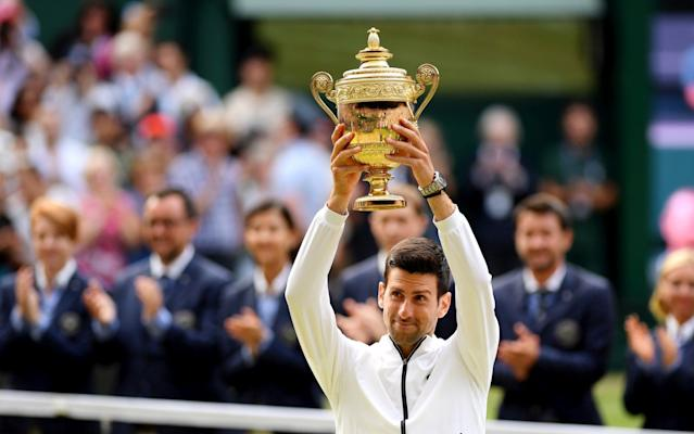 Novak Djokovic defeated Roger Federer to claim another Wimbledon singles title - Getty Images Europe