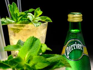 Perrier Passionfruit Julep
