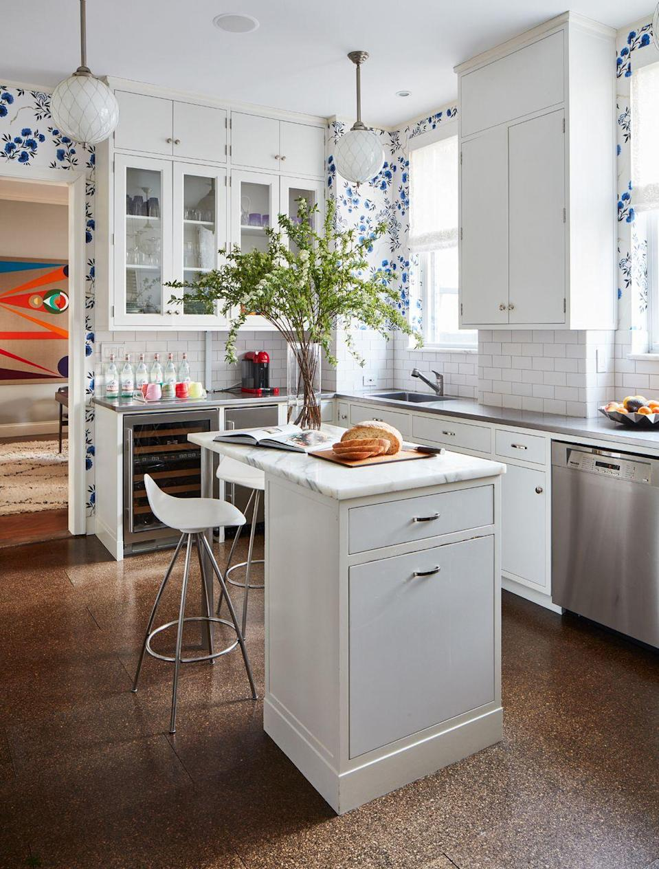 """<p>In recent years, an open kitchen-slash-dining-slash-living-slash-everything-else room has become the norm. But several designers told us that they're ready for the simple kitchen-as-kitchen (like in this <a href=""""https://www.housebeautiful.com/design-inspiration/house-tours/a27359529/fawn-galli-new-york-apartment/"""" rel=""""nofollow noopener"""" target=""""_blank"""" data-ylk=""""slk:Manhattan apartment"""" class=""""link rapid-noclick-resp"""">Manhattan apartment</a> designed by Fawn Galli) to make a comeback. """"I've been noticing more and more that clients don't want their kitchens in their living rooms,"""" says <a href=""""https://www.tinaramchandani.com/"""" rel=""""nofollow noopener"""" target=""""_blank"""" data-ylk=""""slk:Tina Ramchandani"""" class=""""link rapid-noclick-resp"""">Tina Ramchandani</a>. """"The separation of rooms gives a sense of having more space."""" Adds Pickart, """"The great room concept will be making a graceful exit in this next decade. That's not to say we won't have non-dining seating, I just believe we are headed back toward a time where our rooms are designed to serve their original purpose, kitchens especially!""""</p>"""