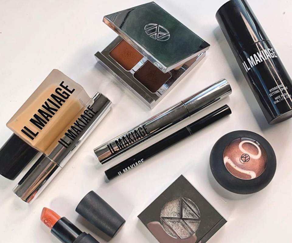 A collection of Il Makiage makeup products