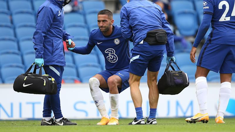 Ziyech out for a couple of weeks, Silva and Chilwell won't face Brighton