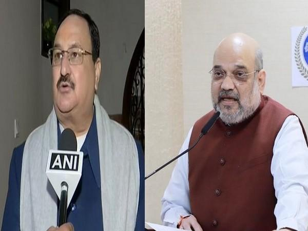 BJP chief JP Nadda and Union Home Minister Amit Shah. (File Photos)