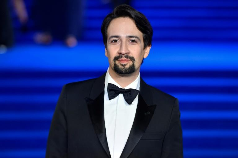 US actor Lin-Manuel Miranda, pictured in 2018, said the film would be a live performance by the original cast