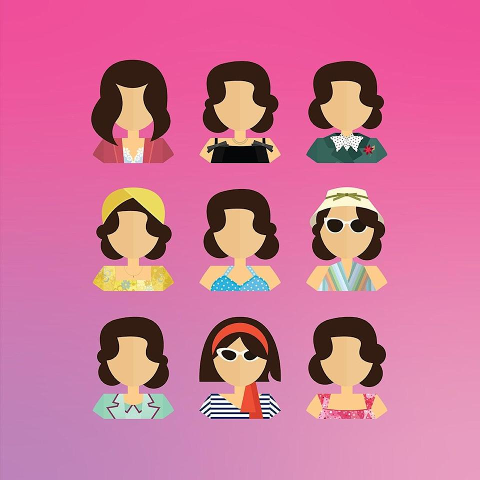 "Each month, New York-based designer Desiree Nasim unveils a new pop culture character portrait as part of her Charts for Change initiative, where 100% of the profits go to a charitable organization. For October, Nasim donated proceeds from her brilliant <a href=""https://www.glamour.com/about/the-marvelous-mrs-maisel?mbid=synd_yahoo_rss"" rel=""nofollow noopener"" target=""_blank"" data-ylk=""slk:Marvelous Mrs. Maisel"" class=""link rapid-noclick-resp""><em>Marvelous Mrs. Maisel</em></a> design to Covenant House, a favorite of star <a href=""https://www.glamour.com/about/rachel-brosnahan?mbid=synd_yahoo_rss"" rel=""nofollow noopener"" target=""_blank"" data-ylk=""slk:Rachel Brosnahan"" class=""link rapid-noclick-resp"">Rachel Brosnahan</a>. The design was so popular that Nasim has now added it to her permanent collection. But that's not all; there's also designs for <a href=""https://www.glamour.com/about/friends?mbid=synd_yahoo_rss"" rel=""nofollow noopener"" target=""_blank"" data-ylk=""slk:Friends"" class=""link rapid-noclick-resp""><em>Friends</em></a>, <em>Schitt's Creek</em>, and more. Could we <em>be</em> any more excited? $15, CharacterCharts. <a href=""https://www.etsy.com/listing/873292144/mrs-maisel-art-print"" rel=""nofollow noopener"" target=""_blank"" data-ylk=""slk:Get it now!"" class=""link rapid-noclick-resp"">Get it now!</a>"