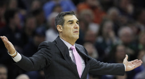 Jay Wright has Villanova right back into national consciousness yet again. (AP)