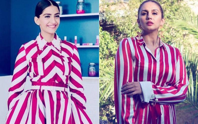 <p>Who wore the Christmas Candy red and white stripes print better at Cannes 2018 – Sonam Kapoor or Huma Qureshi? </p>