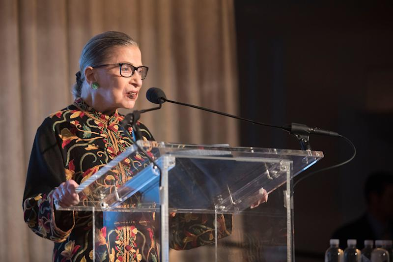 """Explaining why she fell asleep at the 2015 State of the Union: """"I vowed this year just sparkling water -- stay away from the wine -- but the dinner was so delicious it needed wine."""""""