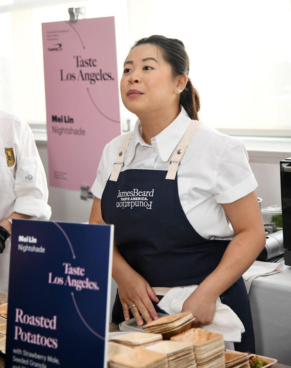 <p>After she won <em>Top Chef, </em>Mei competed on an episode of <em>Knife Fights </em>and won. In 2018, she opened her first restaurant, a Los Angeles eatery named Nightshade. </p>