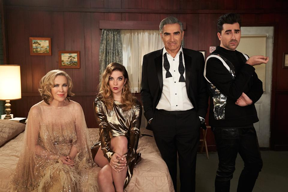 We have so much love for the Schitt's Creek gangHandout